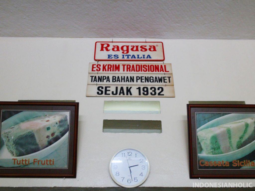 Es Krim Ragusa Jakarta