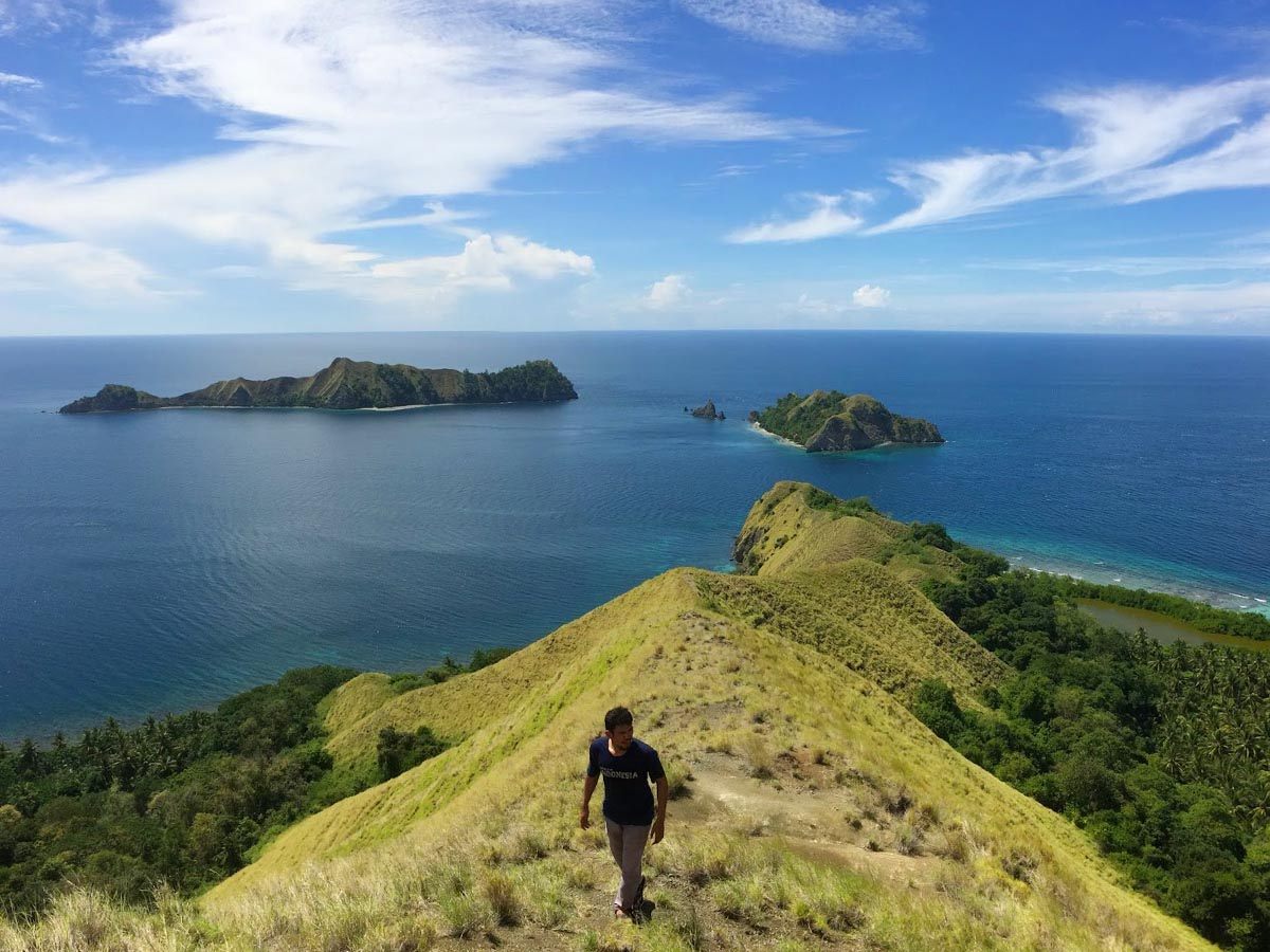 Bukit Lukapan Konio Pulau Dua Balantak