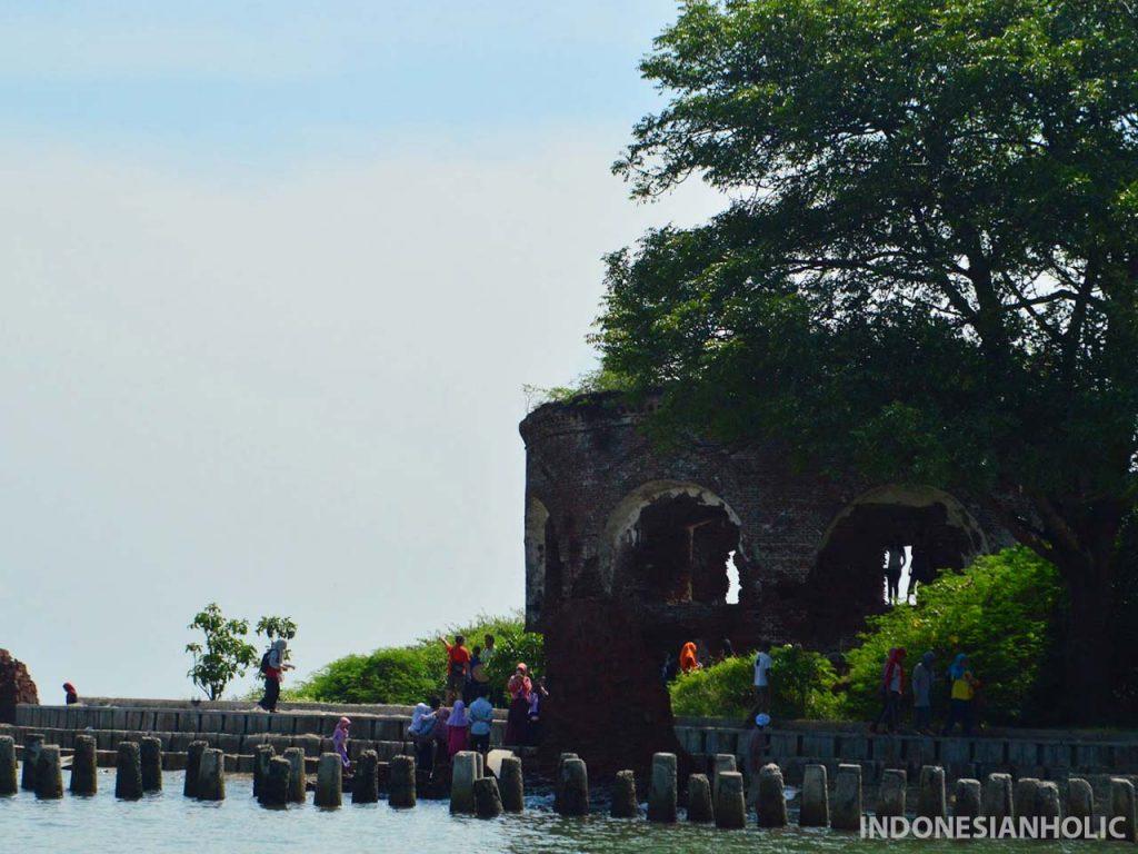 Benteng Martello dari sisi berbeda