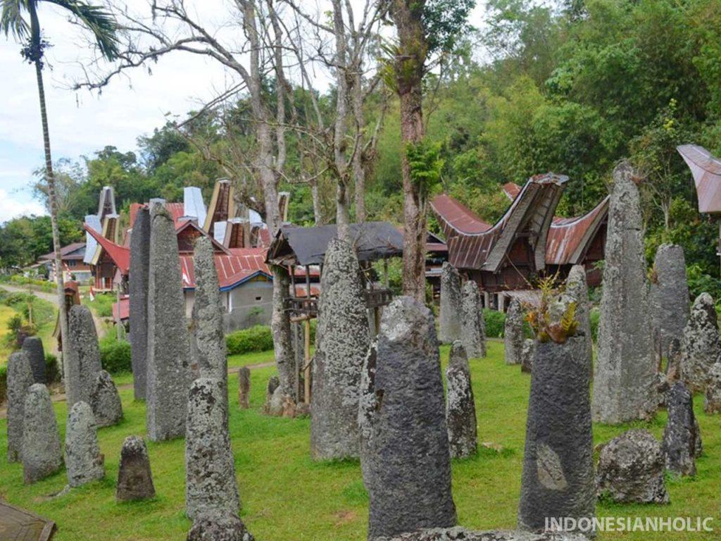 Bori tempat wisata di Toraja