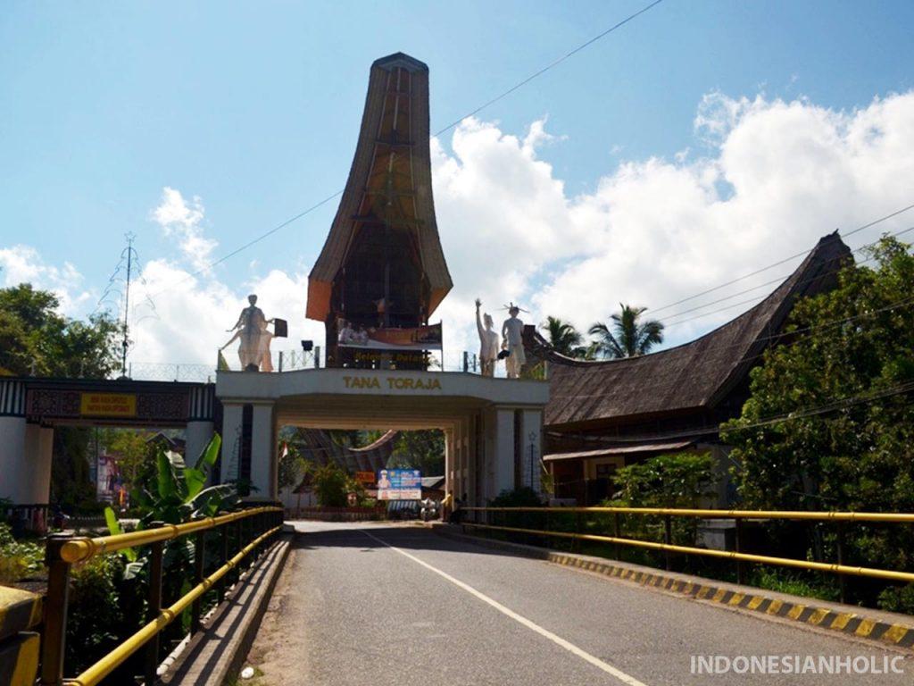 Perbatasan Enrekang dan Toraja