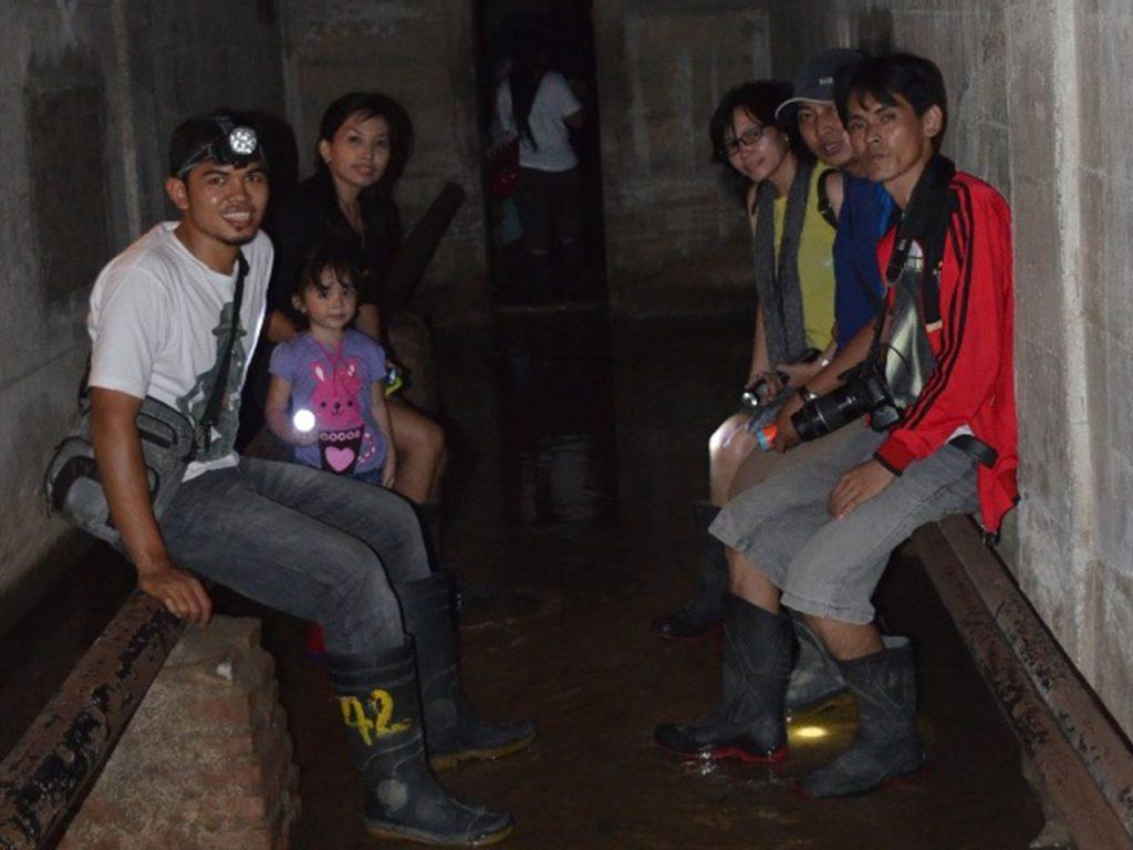 Mengunjungi penjara bawah tanah Lawang Sewu