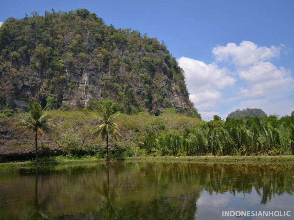 Tiba di Desa Berau Rammang Rammang
